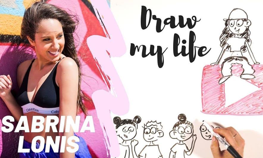 Draw my Life – Sabrina Lonis